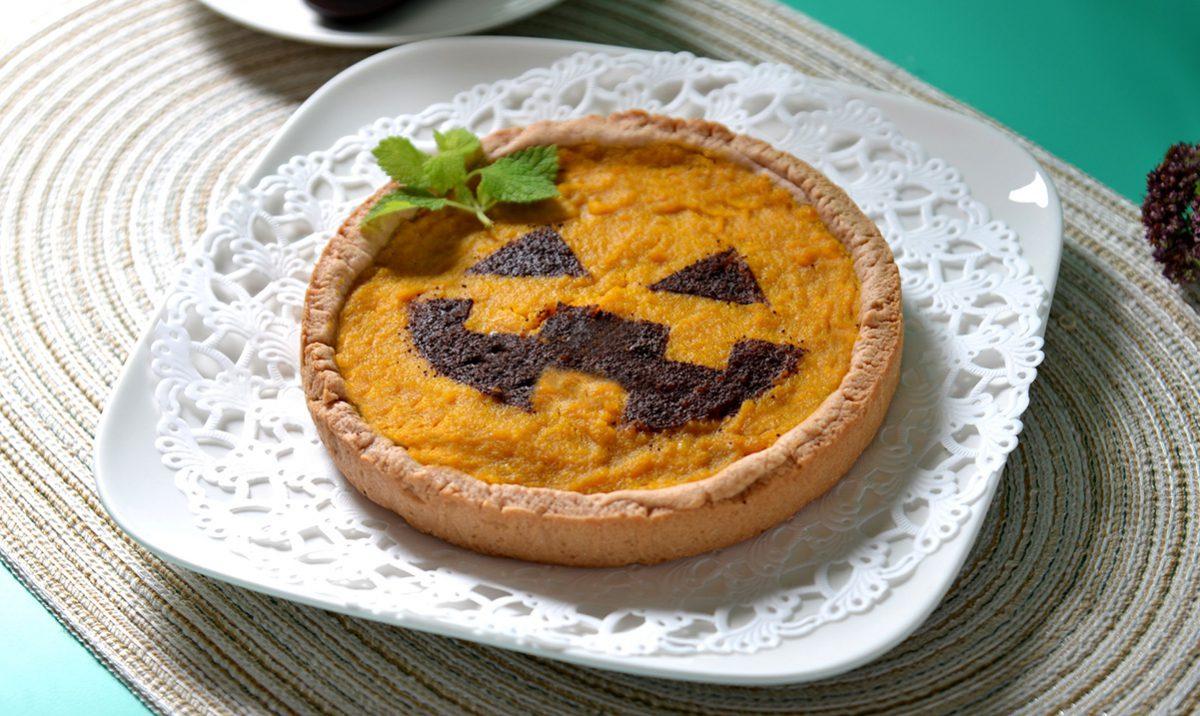 おばけかぼちゃのタルト