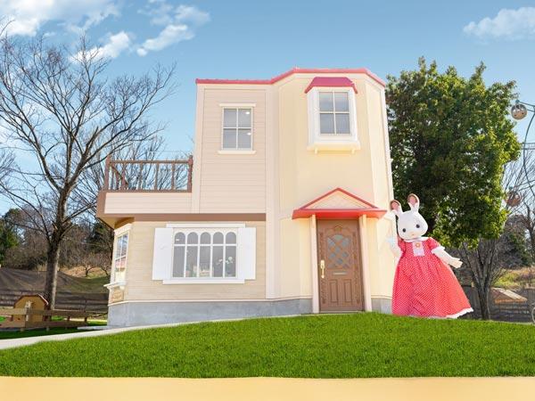 3.赤い屋根の大きなお家①600×450