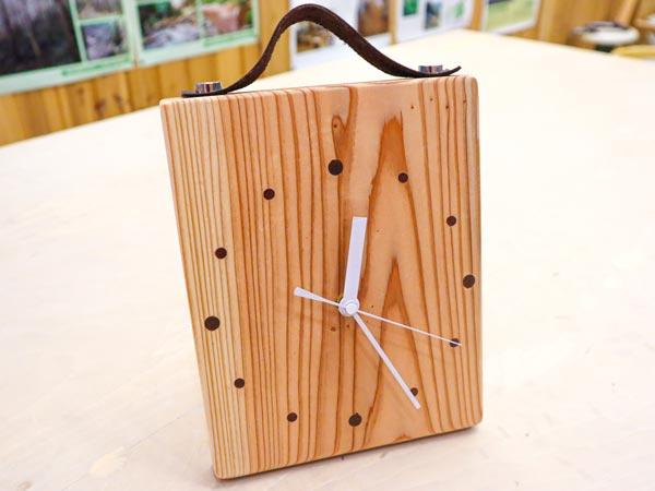 木の時計①加工600×450